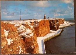 Ak Deutschland - Helgoland - Winter An Der Westküste - Helgoland
