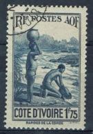 Ivory Coast, 1f.75, Along The Komoé River, 1936, VFU - Ivory Coast (1892-1944)