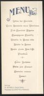 Menu Servi Par M.Antinelli Chef De Cuisine, Propriétaire Du Lion D'Or à Montessuy ( Rhône ) - Non Daté - Menus