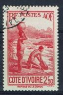 Ivory Coast, 2f.50, Along The Komoé River, 1939, VFU - Ivory Coast (1892-1944)