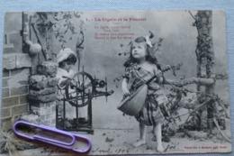 Lot De 5 Cartes Numérotées De 1 à 5 : La Cigale Et La Fourmi En 1904 - Cartes Postales