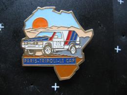 Pin's Du Rallye PARIS-TRIPOLI - Le CAP - Rally