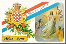 PATRIOTIC HRVATSKA CROAZIA PC Circulated - Kroatien