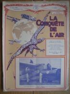 LA CONQUETE DE L'AIR 1932 N°3 -SABENA-CONGO-MINERVA 17 CV-Présentation Du Trimoteur FORD -CHENARD-WALCKER-CITROEN-WILLYS - AeroAirplanes