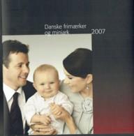 Denmark 2007. Full Year MNH. - Danimarca