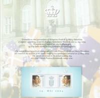 Denmark 2004. Wedding Of Crown Prince Frederik And Mary Donaldson Special Folder. MNH. - Danimarca