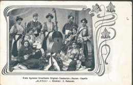 "PATRIOTIC Damen Capelle""SLAVUJ"", CROAZIA PC Uncirculated - Kroatien"