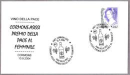 VINO DE LA PAZ - WINE OF PEACE. Cormons, Gorizia, 2004 - Vinos Y Alcoholes