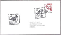 100 Años 1ª LINEA FERROVIARIA ELECTRICA DE ALTA TENSION. Lecco 2002 - Trenes