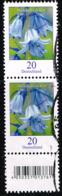 Bund 2017, Michel# 3315 R O Blumen: Winterling Mit EAN-Code Und Nr. 245 - Roulettes