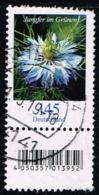 Bund 2018, Michel# 3351 R O Blumen: Jungfer Im Grünen Mit EAN-Code Und Nr. 65 - Roulettes