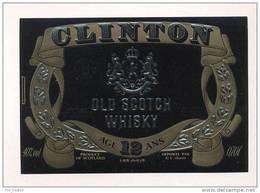 Etiquette De Scotch  Whisky  -  Clinton -   Ecosse - Whisky