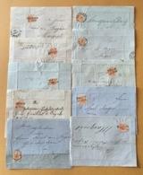 LOTTO DI 74  FRANCOBOLLI KREUZER - AUSTRIA IMPERO ( VEDI DESCRIZIONE ) - 1850-1918 Empire