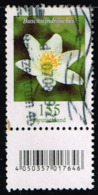 Bund 2019, Michel# 3472 R O Blumen:Buschwindröschen Mit EAN-Code Und Nr. 355 - Roulettes
