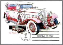 Automovil PACKARD 1932. Detroit MI 1988 - Coches