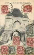 Affranchissement Multiple Type Blanc 3x1c + 6x2 C = 15c ! Carte Postale 1931 - 1900-29 Blanc