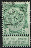 56  Obl Relais  Neylen + 15 - 1893-1907 Coat Of Arms