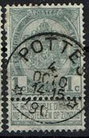 53  Obl Relais  Pottes + 15 - 1893-1907 Coat Of Arms