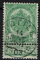 56  Obl Relais  Pottes + 15 - 1893-1907 Coat Of Arms