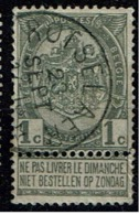 53  Obl Relais  Rotselaer + 15 - 1893-1907 Coat Of Arms