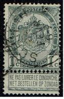53  Obl Relais  Schilde + 50 - 1893-1907 Coat Of Arms