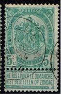 56  Obl Relais  Schilde + 50 - 1893-1907 Coat Of Arms