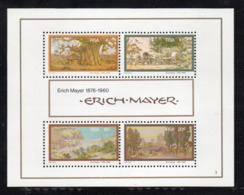 BF53 - SUD AFRICA 1976, Dipinti Di Mayer : Il BF N. 4  ***  MNH  (2380A) - Blocchi & Foglietti