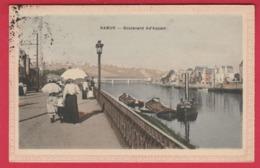 Namur - Boulevard Ad'Aquam ... Jolie Carte Couleur - 1909 ( Voir Verso ) - Namur