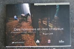 1866/ Des Hommes Et Chevaux-Débardage Forêt Ard.P;Guillaume/.Maraga ...Vielsalm/Gouvy/Arville/Journal/Bertrix/... - Andere