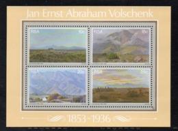 BF172 - SUD AFRICA 1978, Dipinti Di Volschenk : Il BF N. 6  ***  MNH  (2380A) - Blocchi & Foglietti
