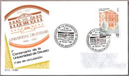 100 Años De La UNIVERSIDAD DE DEUSTO - 100 Years University Of Deusto. SPD/FDC Bilbao, Pais Vasco, 1987 - Otros