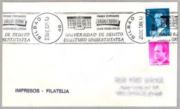100 Años UNIVERSIDAD DE DEUSTO - 100 Years UNIVERSITY OF DEUSTO. Bilbao, Pais Vasco, 1986 - Otros