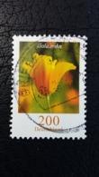 Briefmarke Aus Deutschland Mit Goldmohn - Pflanzen Und Botanik