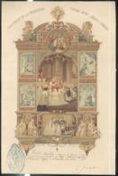 Diplôme De 1ère Communion 1907 Et Confirmation 1918 - Eglise Saint Bernard ( Lyon ) - Très Bon état - Diplomas Y Calificaciones Escolares