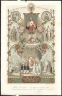 Diplôme De 1ère Communion 1906 Et Confirmation 1918 - Très Bon état - Diplomas Y Calificaciones Escolares
