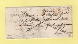 Charny - 83 - Yonne - Port Paye - Boite Rurale O - 1837 - 1849-1876: Classic Period