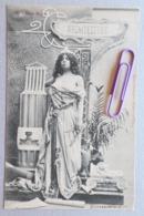 Les Arts :l'architecture En 1900 - Cartes Postales