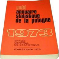 Petit Annuaire Statistique De La Pologne 1973 - Other