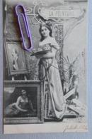 Les Arts :la Peinture  En 1900 - Cartes Postales