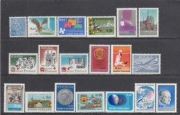 Finland 1970 - Year Set Complete, Mi-Nr. 666/84, MNH** - Finland