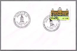 Espamer 87 - FARO TORRE DE HERCULES - Matasellos De Brasil En La Coruña 1987 - Faros