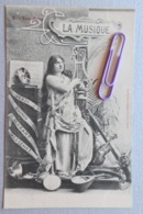 Les Arts :la Musique  En 1900 - Cartes Postales