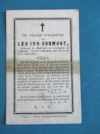 Zeer Oud Prentje Leo Surmont- Zevecote Leffinge - Devotion Images
