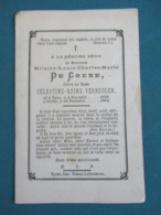 DP Hilaire De Coene ( Vermeulen ) Ypres 1884 - Devotion Images