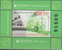 MONTENEGRO EUROPA CEPT 2016 Bloc/minisheet Neuf/mint/ungestemp. - Europa-CEPT
