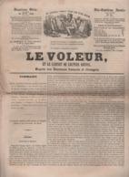 LE VOLEUR 30 06 1844 BONE ALGERIE - VOITURIN SUISSE - CHASSEUR DE NAPOLEON NOVERAZ LAUSANNE - LUNEBOURG - MODE - THEATRE - Kranten