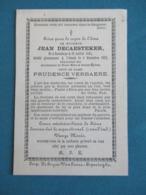 DP Jean Decaesteker ( Verbaere ) Boeschepe Abeele ( Poperinge ) - Devotion Images