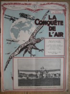 LA CONQUETE DE L'AIR 1932 N°5 -FORD 8 Cyl. En V -J. LEDURE-MOLLISON-Maryse HILTZE Au CONGO-COUZINET RAID PARIS-NOUMEA - AeroAirplanes