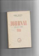 Livre Ancien  1946  Journal 1946 Etats Unis  Par André Maurois - Andere