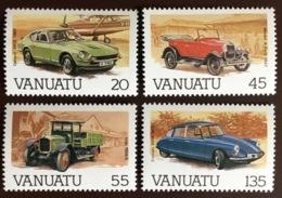 Vanuatu 1987 Motor Vehicles Cars MNH - Vanuatu (1980-...)